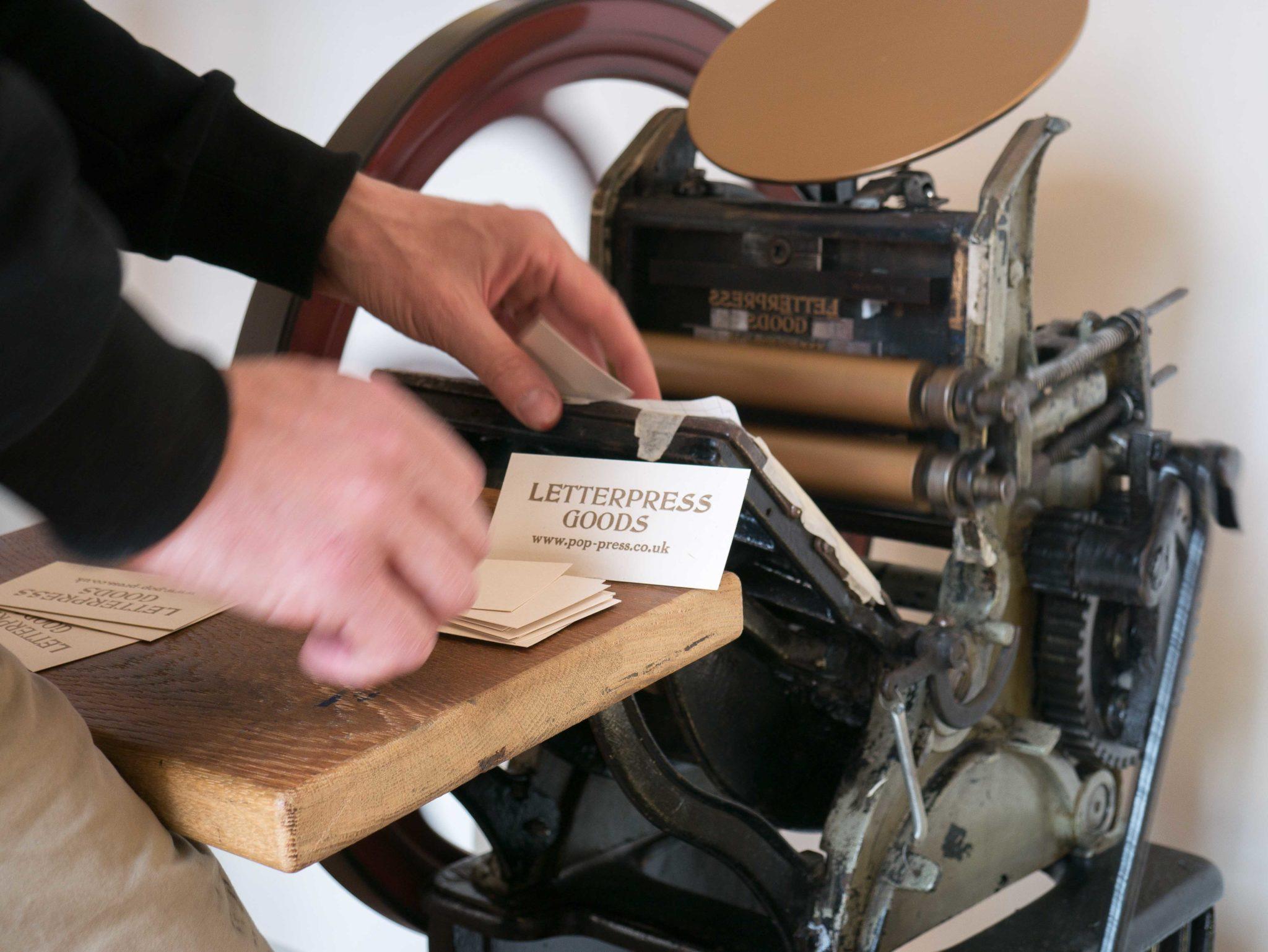 Golding Peart treadle press