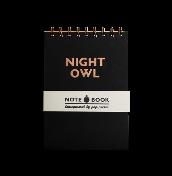 Night Owl notebook by Pop Press