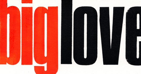BIG-LOVE-card by Pop Press