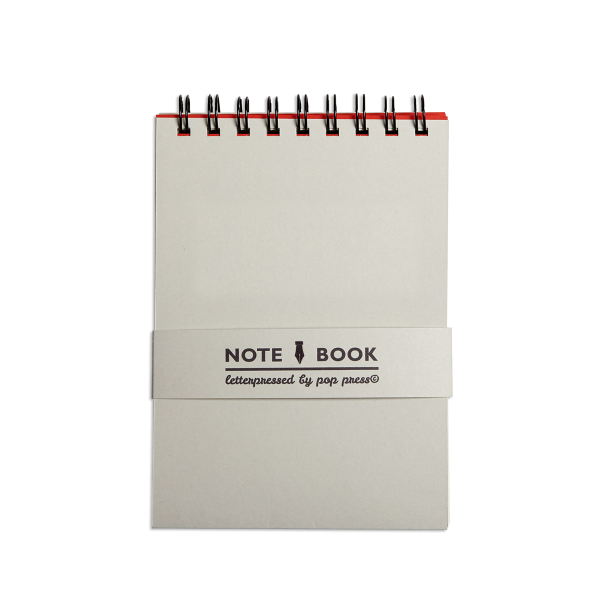 Grey Pop Press notebook