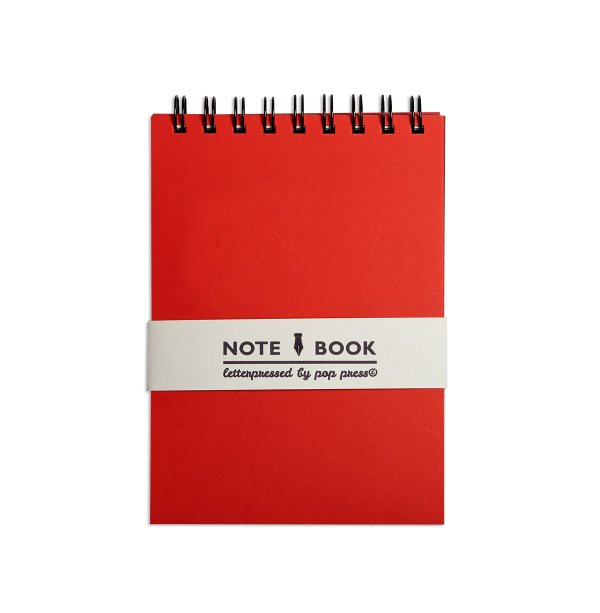 Red Pop Press notebook