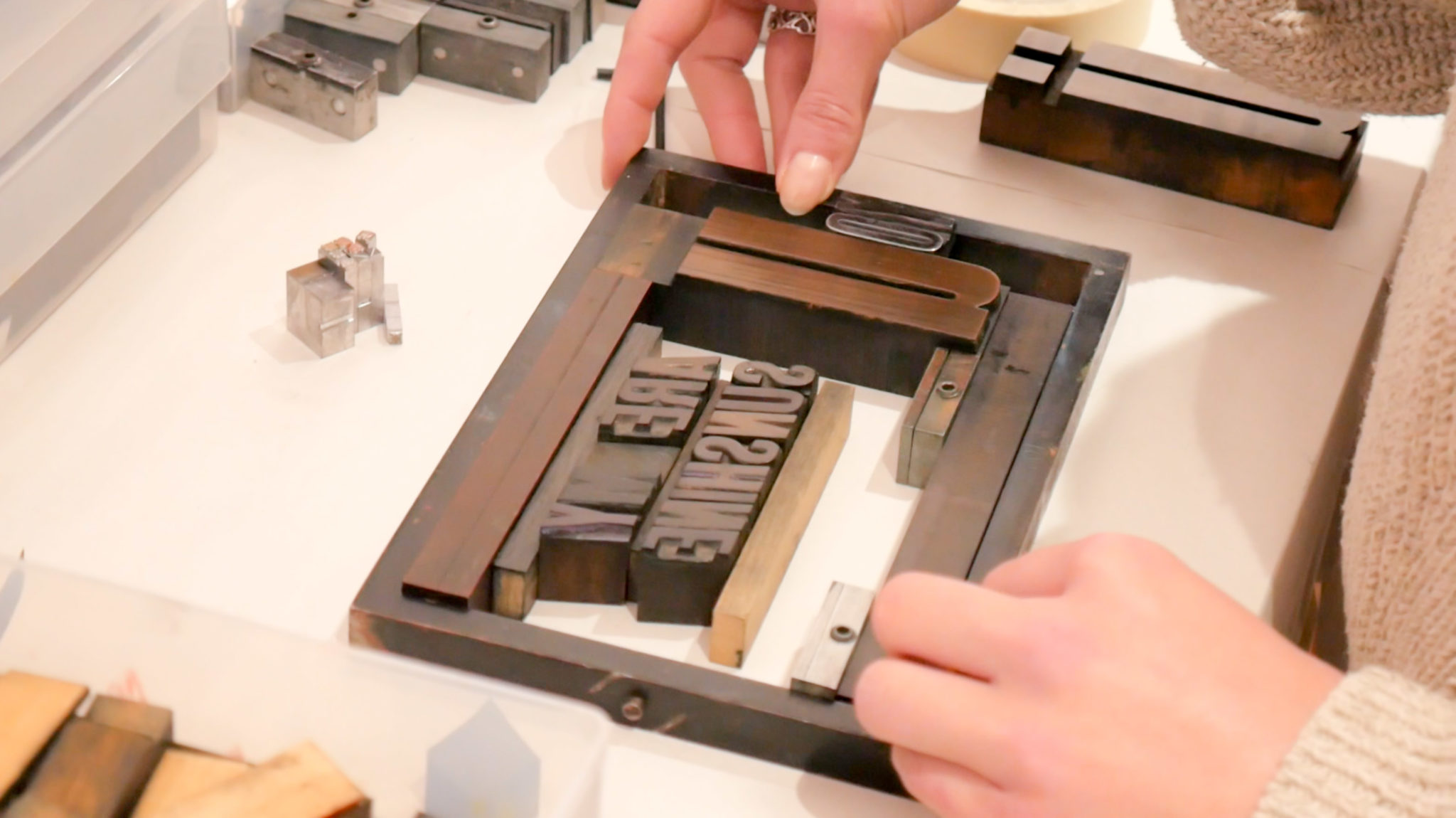 Experimental Letterpress Workshop 16