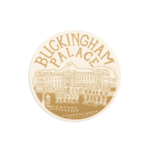 Buckingham Palace London Melamine Coaster by Pop Press