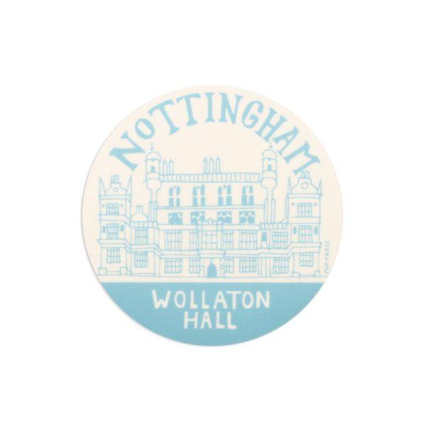 Wollaton Hall Nottingham Melamine Coaster by Pop Press