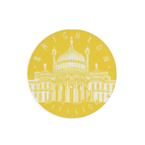 Brighton Pavilion Melamine Coaster by Pop Press