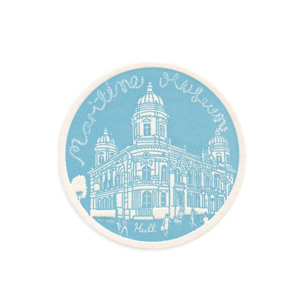 Maritime Museum Hull Letterpress Coaster by Pop Press